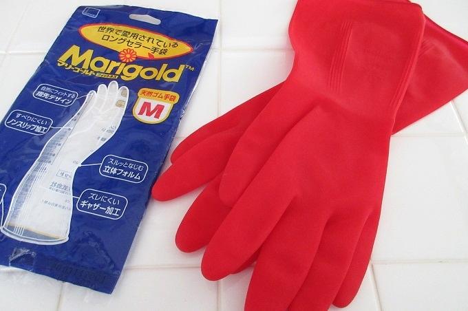 ゴム手袋 マリーゴールド ロングセラー
