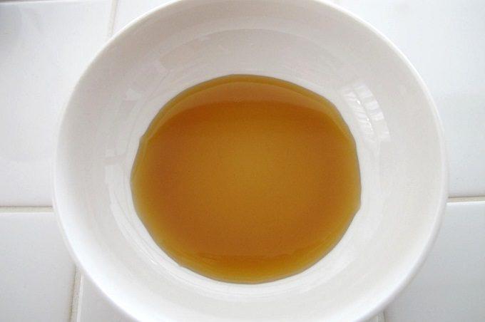 チョーコー ゆず醤油かけぽん 色