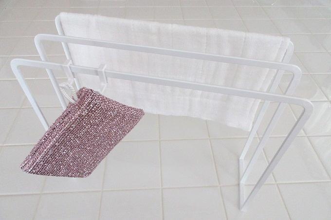 布巾ハンガータワー 横置き