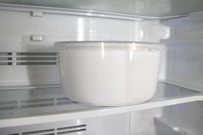 ダイヤモンドコートパン 冷蔵庫にストック
