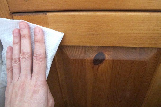 アウロ フローリングワックスシート 木製品も拭ける