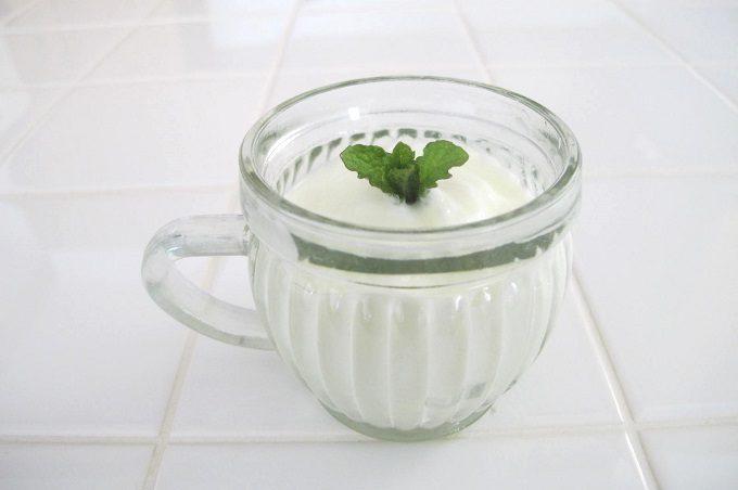 グラスカップ バーレル ヨーグルト