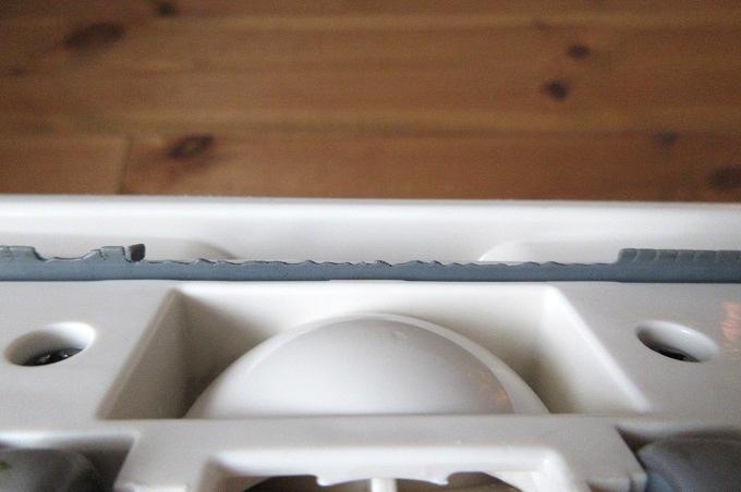 マキタ 掃除機 ノズル 古いヘッドのゴム