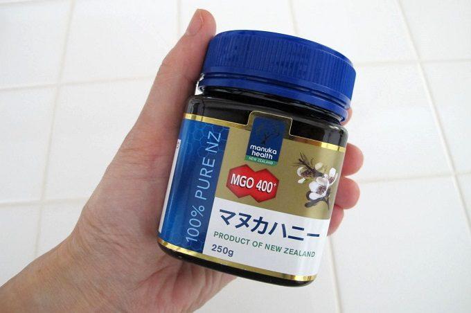 マヌカハニー mgo400 ラベル
