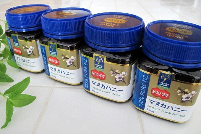 マヌカヘルス社のマヌカハニー食べ比べ 拡大