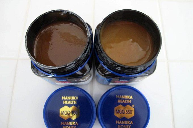 マヌカヘルス社のマヌカハニーmgo100とmgo550の違い