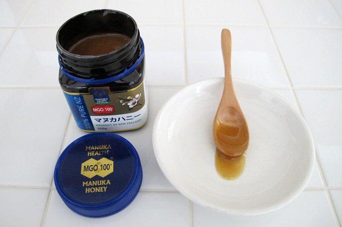 マヌカヘルス社のマヌカハニーmgo100の味