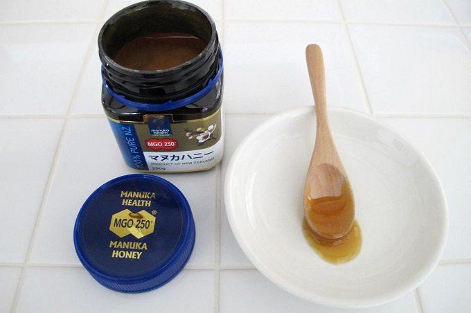 マヌカヘルス社のマヌカハニーmgo250の味