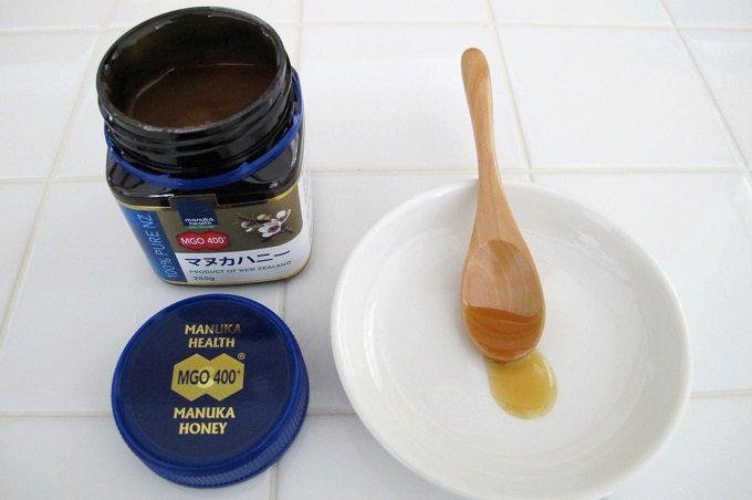 マヌカヘルス社のマヌカハニーmgo400の味