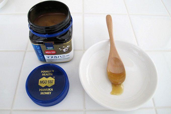 マヌカヘルス社のマヌカハニーmgo550の味