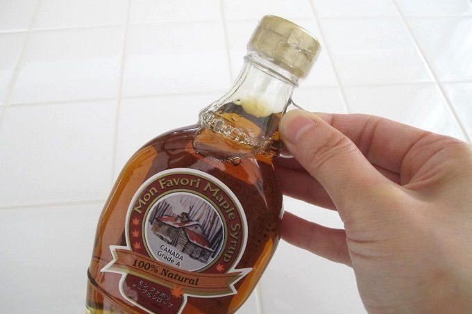 モン・ファボリ メープルシロップ かわいい瓶