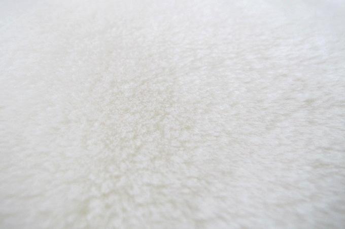 東京西川 ホワイト毛布プレミアム ファー アクリル