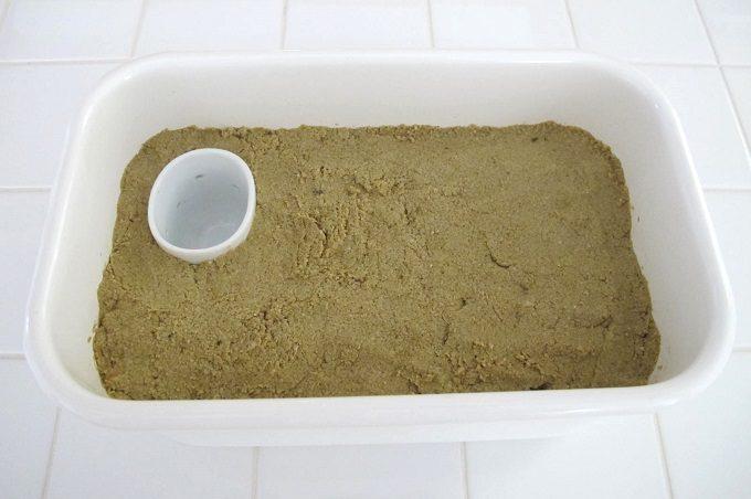 ぬか床に水取器