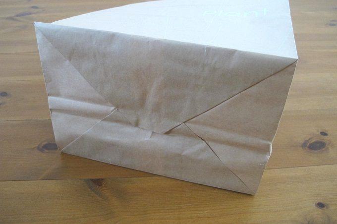 紙製新聞・雑誌整理袋 裏面