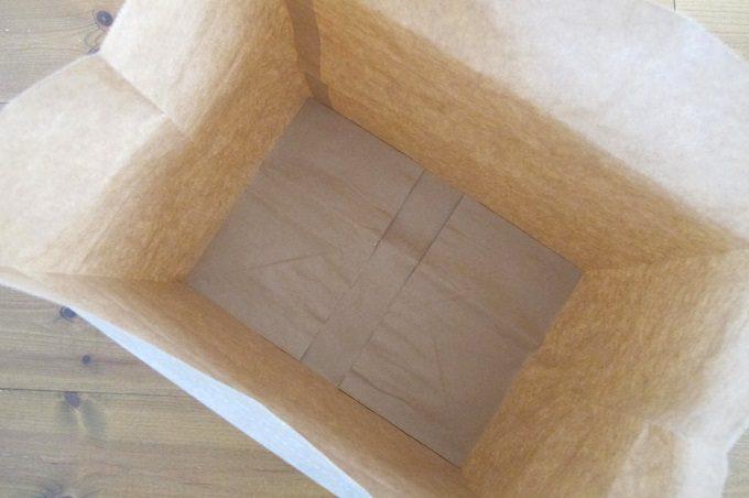 紙製新聞・雑誌整理袋 底面