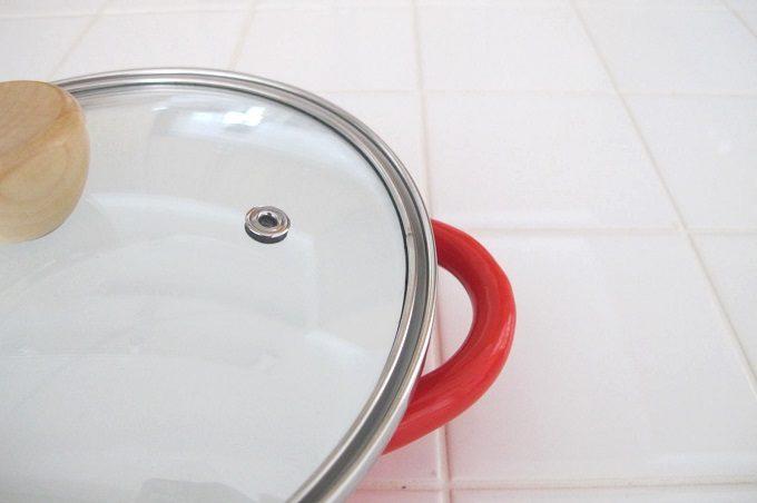 プチクック ホーロー鍋 蒸気穴