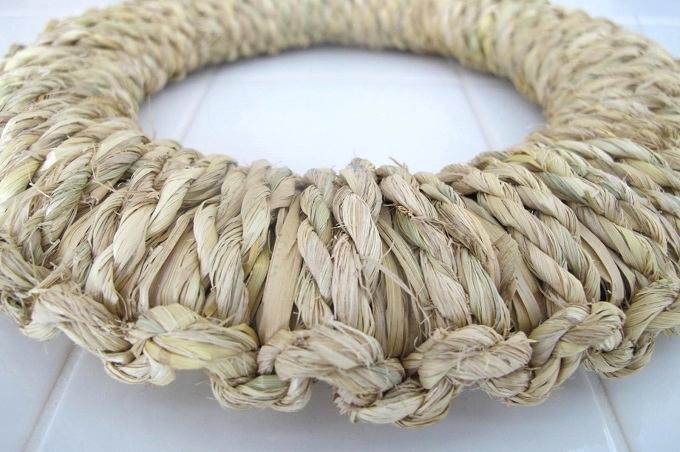 藁(わら)の鍋敷き 高さ(厚さ)