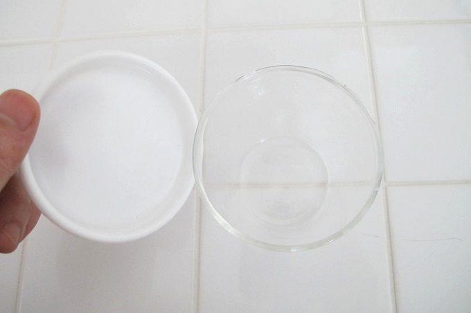 cotta シリコン蓋付きガラスプリンカップ すが入りずらい