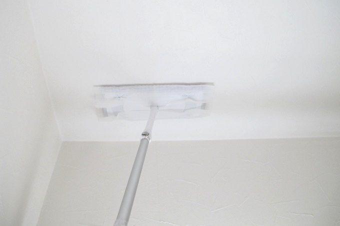 クイックルワイパー 天井掃除