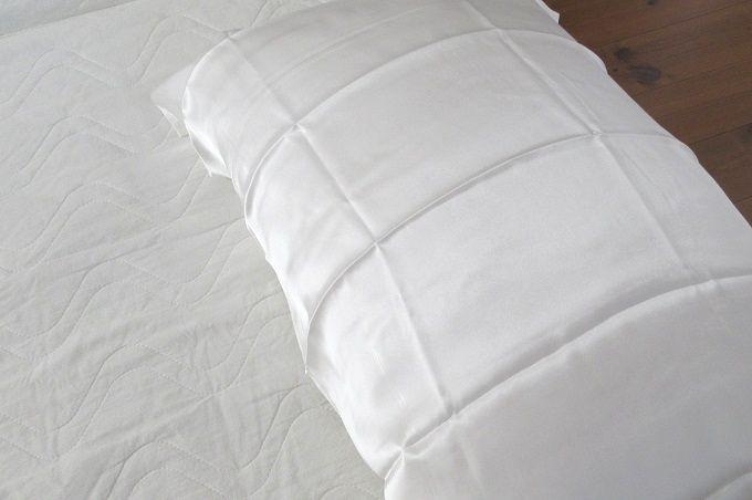 シルク枕カバー 効果