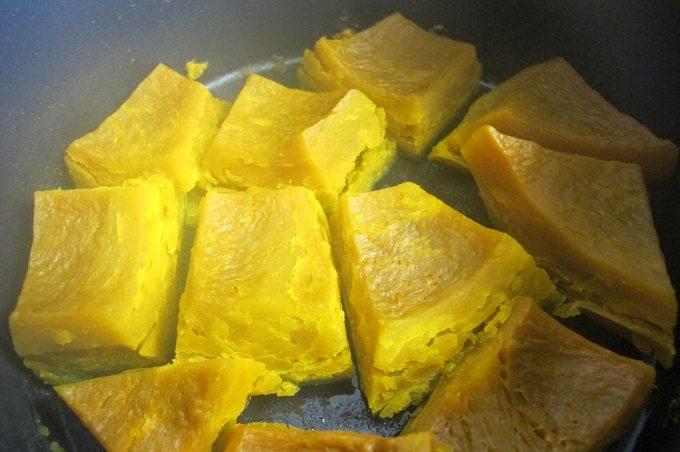 かぼちゃの煮物 完成