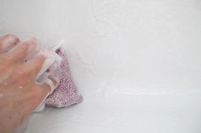 ダスキン 風呂・化粧室用スポンジ 洗剤を使う