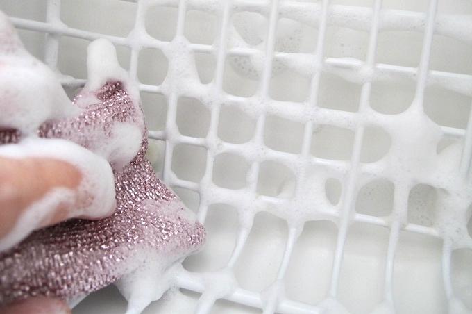 ダスキン 風呂・化粧室用スポンジ 切りかごを洗う
