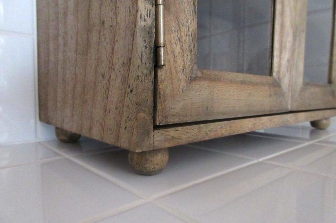 スパイスラック木製 脚付き