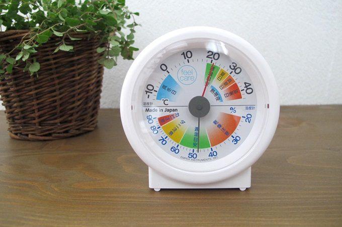 エンペックス生活管理温湿度計