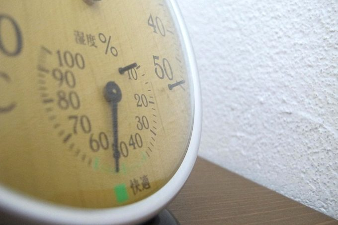 ドリテック 温湿度計 ナチュラルウッド 湿度