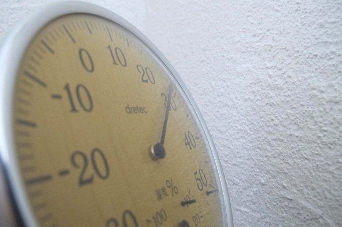 ドリテック 温湿度計 ナチュラルウッド 温度