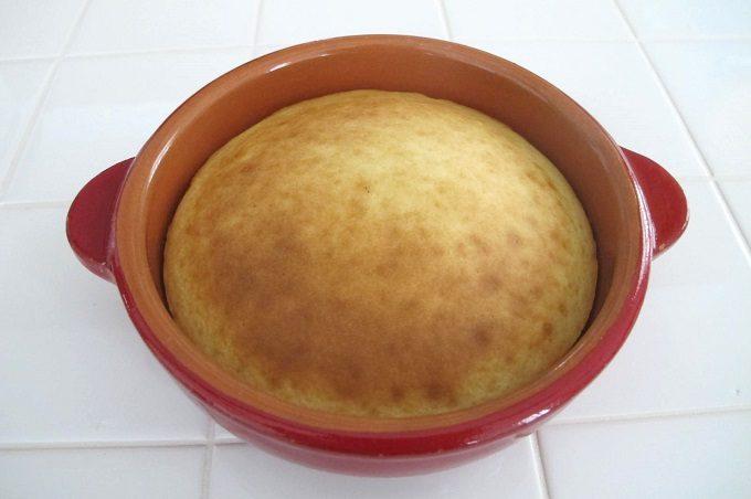 オーブントースターで焼いたホットケーキ