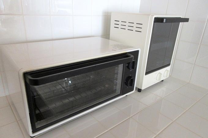無印良品 オーブントースター 縦型 新型・旧型