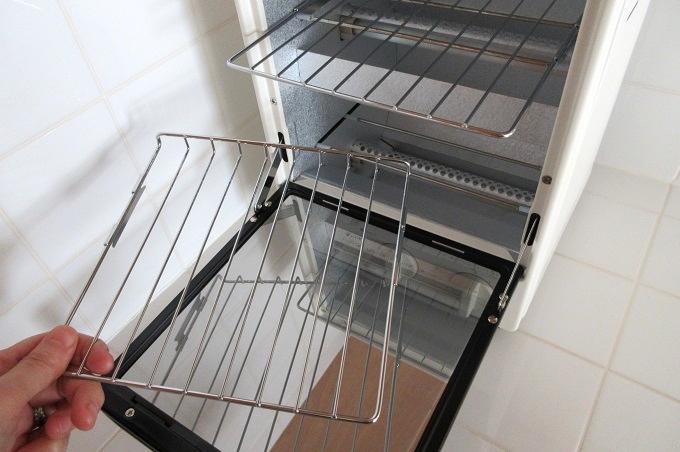 無印良品 オーブントースター 縦型 焼き網 脱着式