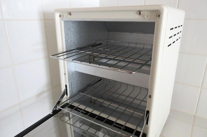 無印良品 オーブントースター 縦型 二段式