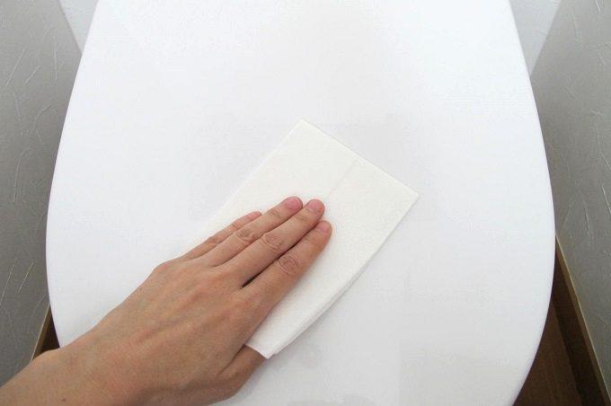 トイレットクリーニングシート トイレ掃除 スタート
