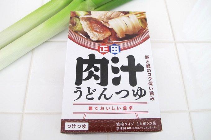 正田醤油 肉汁うどんつゆ