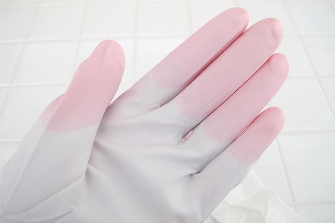 ファミリー ビニール 手袋 うす手 指先強化 炊事・掃除用 丈夫